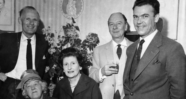 Molly Keane with John Gielgud and Margaret Rutherford