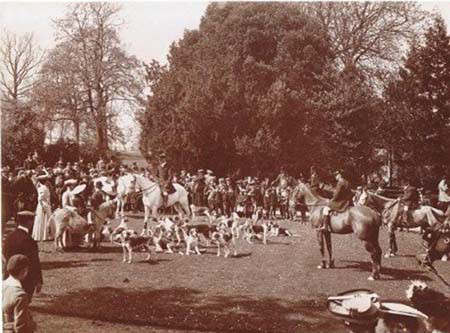 The Knight of Cheerful Countenance 1926 Edwardian hunt